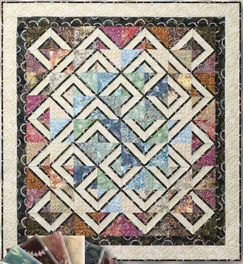 Labyrinth Quilt by Quiltworx – Bobkatquilts.com : labyrinth quilt pattern - Adamdwight.com