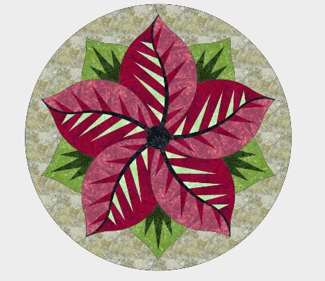 Poinsettia Kit - Christmas Colors