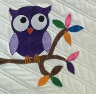owl applique shapes