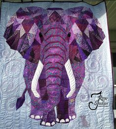 Link To Detailed Web Page Of Sue Campbell Large Wall Hanging Quilt 59 X 64